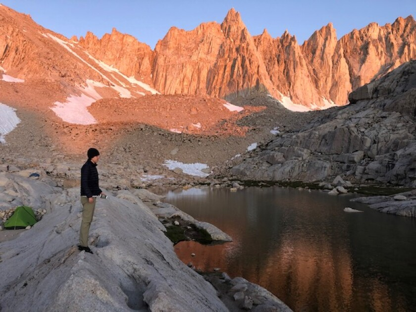 Trail Camp on Mt. Whitney