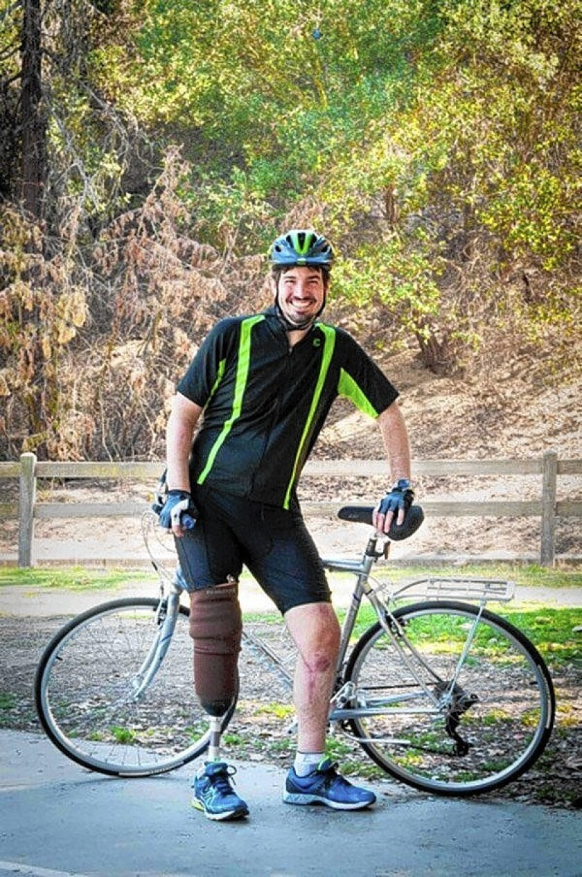"""One year after being dragged down the Golden State (5) Freeway and left for dead by a hit-and-run driver, Damian Kevitt is returning to his bicycle to """"Finish the Ride"""" and raise awareness of LA's hit-and-run problem."""