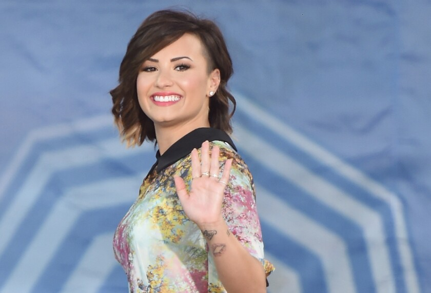 A trespasser was reported at Demi Lovato's Hollywood Hills home, police say.
