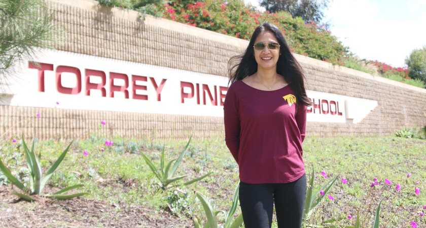 Torrey Pines Athletic Director Charlenne Falcis-Stevens