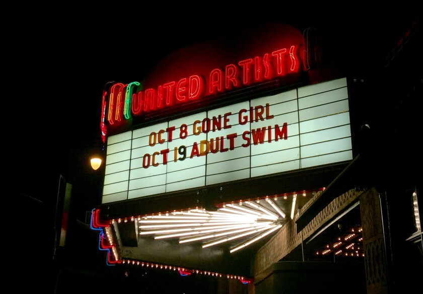 'Gone Girl' screening at Ace Hotel