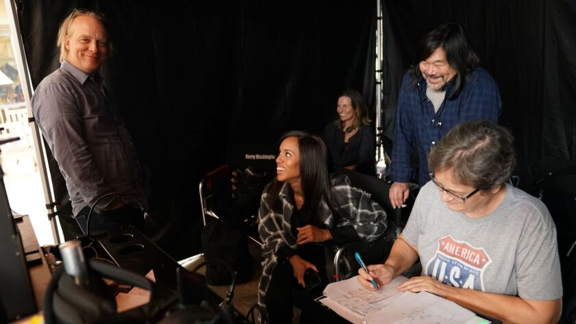 OLIVER BOKELBERG (DIRECTOR OF PHOTOGRAPHY), KERRY WASHINGTON (DIRECTOR)