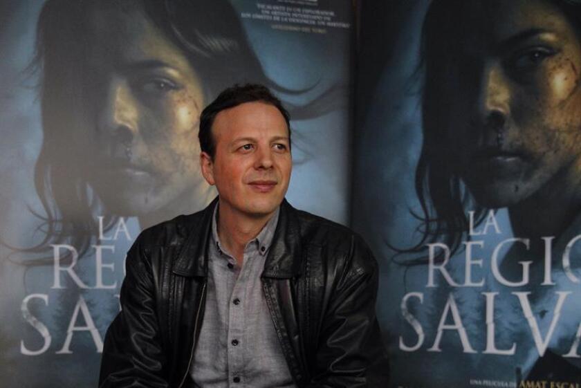 """El director de cine Amat Escalante asiste la presentación de su nueva película """"La legión salvaje"""" hoy, miércoles 24 de enero de 2018, en Ciudad de México (México). durante l que se estrena en cines el próximo 2 de febrero. EFE"""