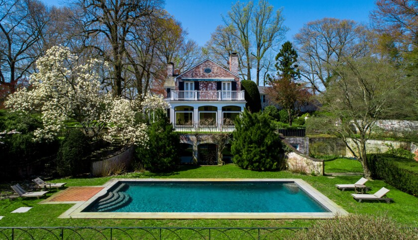 Paul Simon's Connecticut home