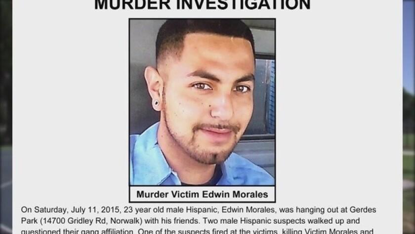 Edwin Morales es asesinado a tiros por supuestos pandilleros sin ser afiliado.