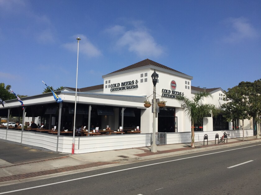 Cold Beers & Cheeseburgers sports pub restaurant opened Oct. 29 in Carlsbad Village.