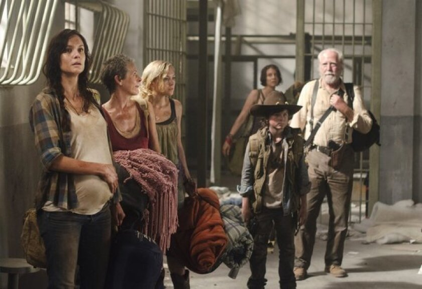 'Walking Dead' becomes first cable series to top fall TV ratings