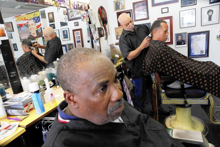 Lawrence Tolliver's barbershop
