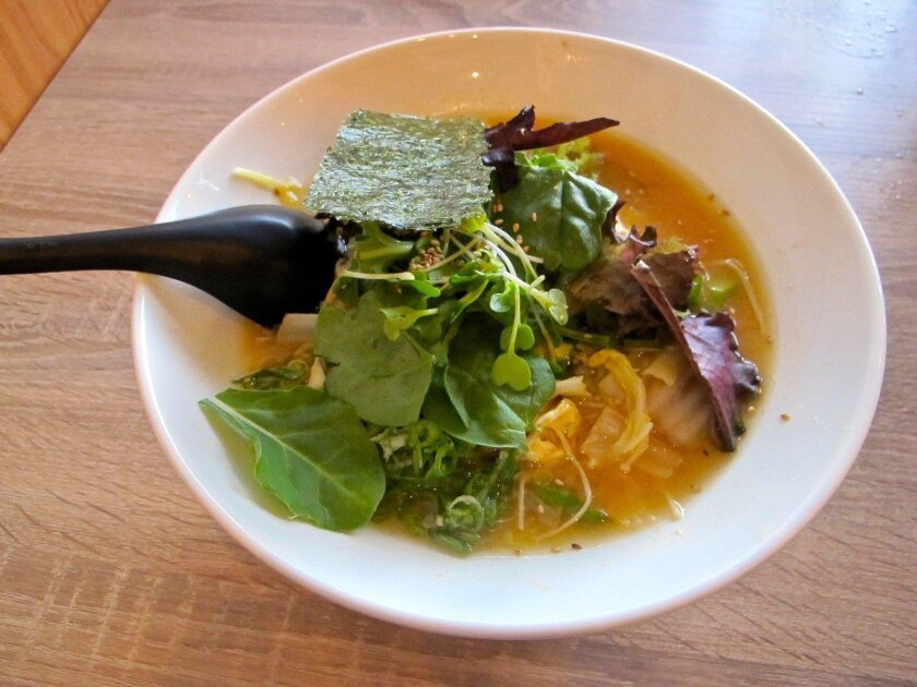Vegan miso ramen from Tajima.