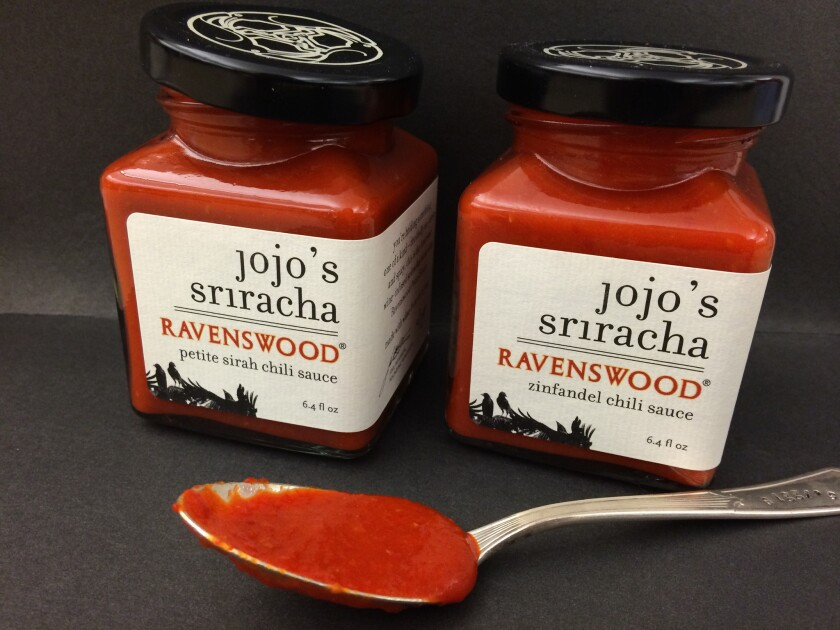 Wine-infused Sriracha