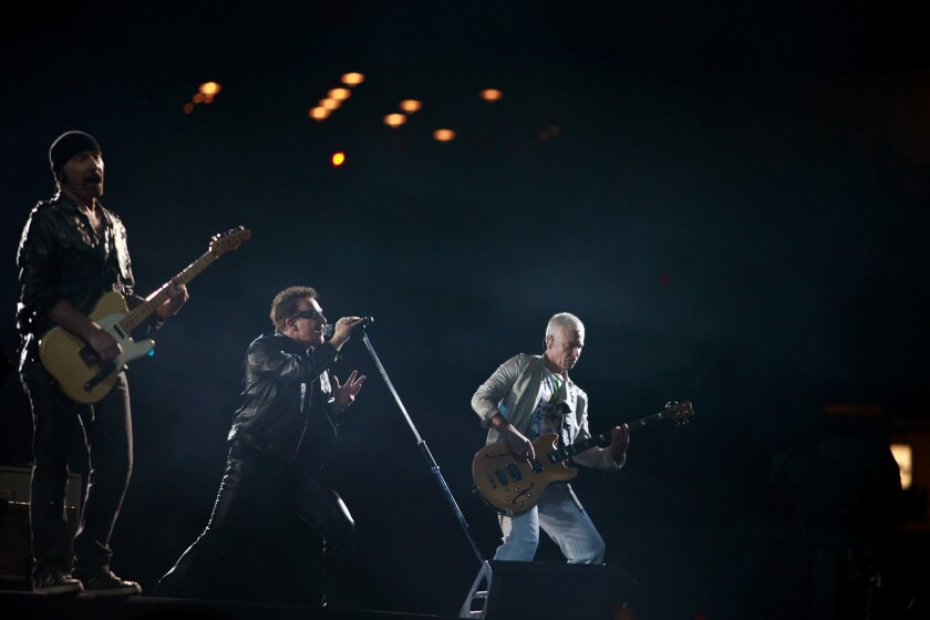 Watch: New U2 video for 'Ordinary Love' from Mandela biopic