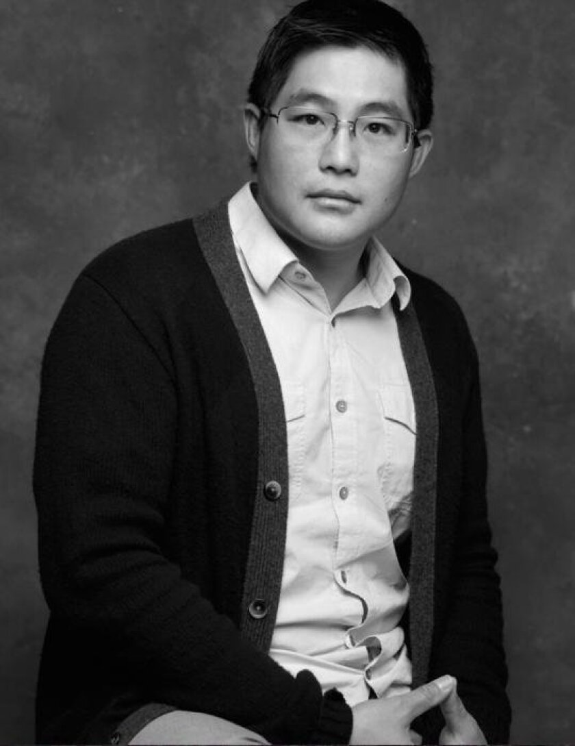 'Tiger Style' playwright and La Jolla native Mike Lew.