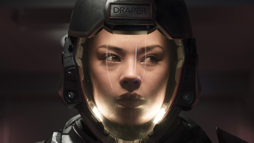 """""""The Expanse"""" returns for a third season on Syfy. With Frankie Adams."""