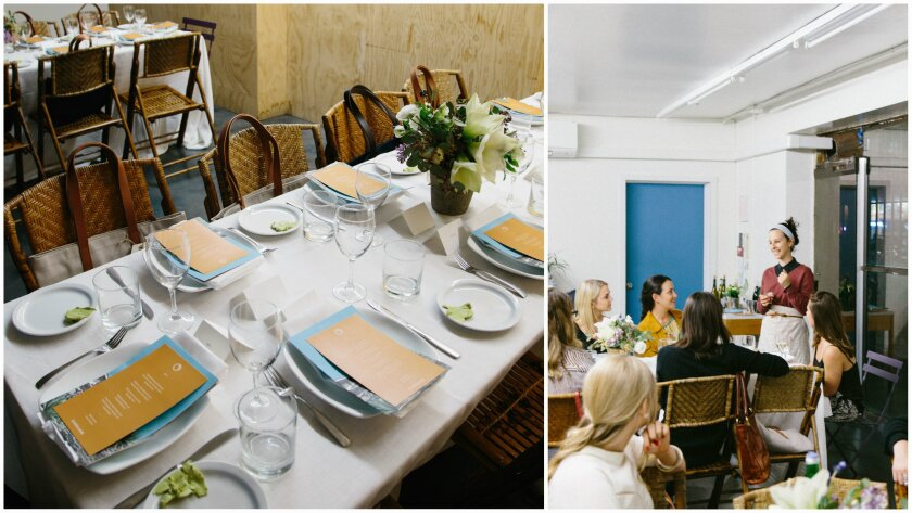 Everlane's Transparent L.A. Dinner