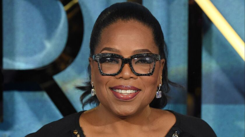 """Oprah Winfrey, shown in London this year, makes a cameo appearance in this week's episode of """"The Handmaid's Tale."""""""