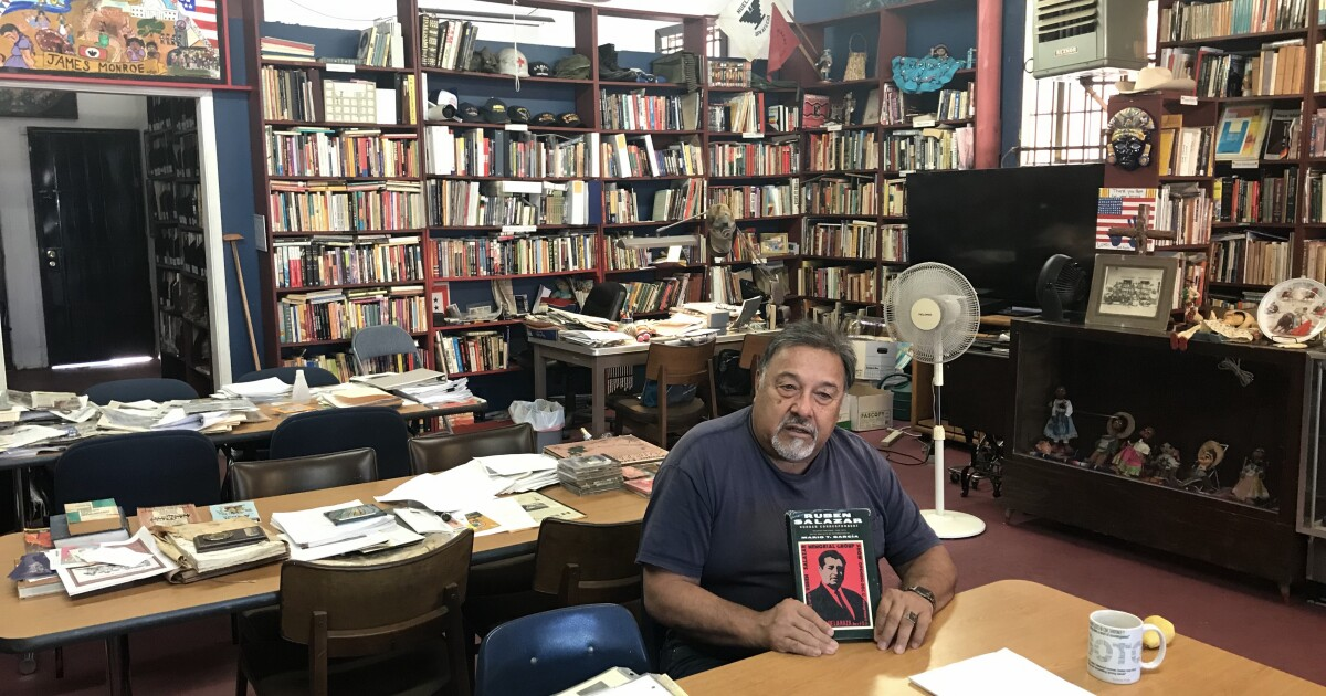 Newsletter: A Central Valley man's lifelong quest to build his own Chicano library