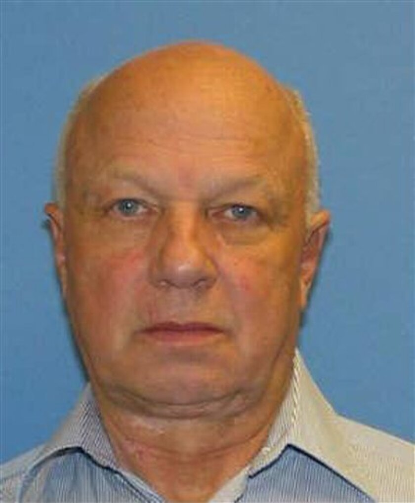 This image provided by the Newark Police Department shows a man identified by police as 66-year-old John Wheeler III, whose body was found at a landfill in Wilmington, Del. on New Year's Eve. (AP Photo/Newark Police Department)
