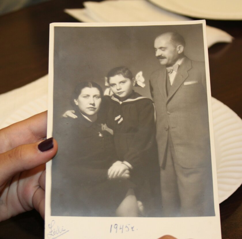 Hartman and her parents were the only three of 25 family members in Poland to survive the Holocaust (1945). Courtesy photos