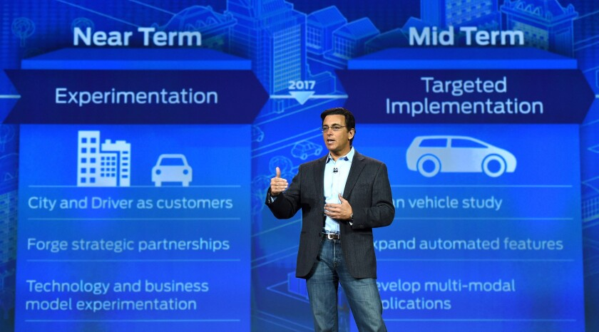 Mark Fields, Ford president and CEO
