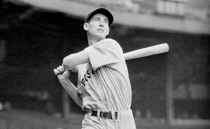 Baseball legend Ted Williams' frozen head and body are stored separately at an Arizona cryonics facility.