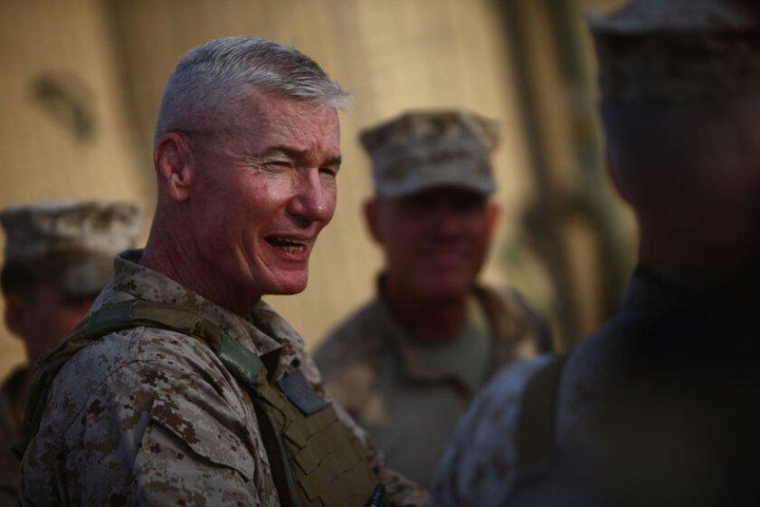 Then-Maj. Gen. John Toolan in Afghanistan. (Lance Cpl. Justin Loya / Marine Corps)