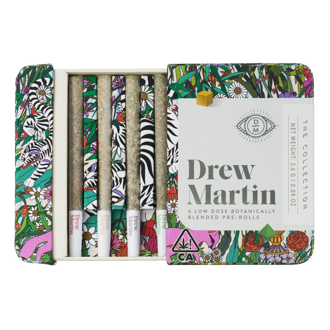 Box of four Drew Martin joints
