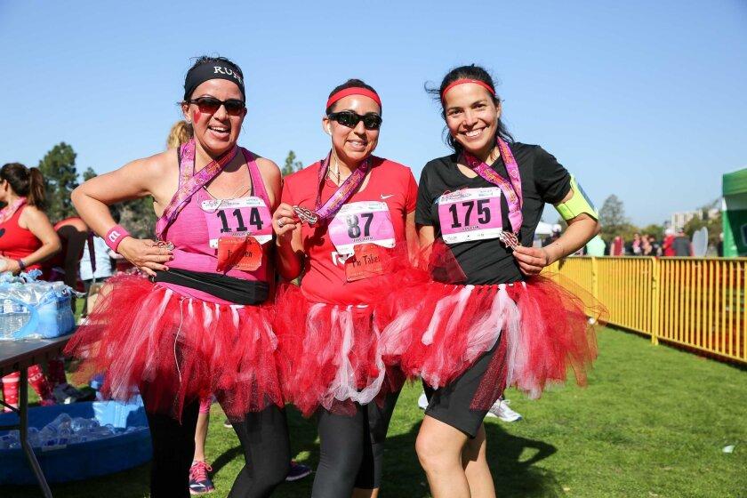 Coronado Valentine's Day 10K, 5K, and 1 Mile Fun Run.