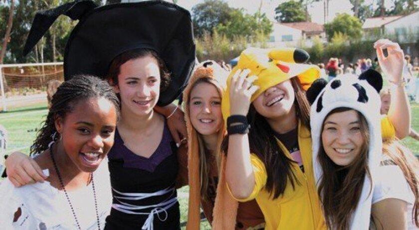 Stacey, Isabella, Savannah, Jane, Hanna (Photo: Jon Clark)
