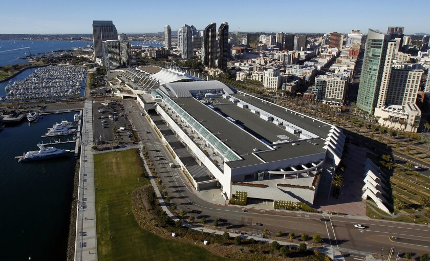 Backers of the convention center expansion are awaiting a court ruling on the legality of the project's financing.