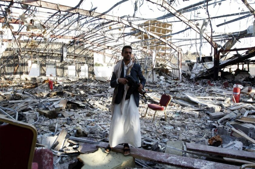 A Saudi-backed air raid this month killed more than 140 mourners at a funeral ceremony in Sana, Yemen. The war in Yemen is increasingly an irritant in tense U.S.-Saudi relations.