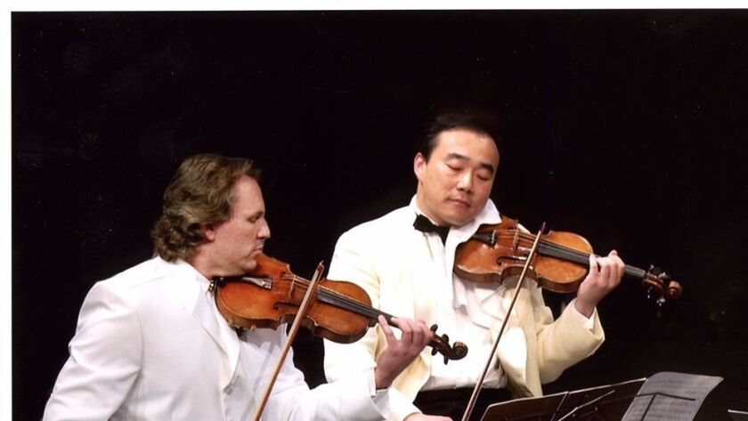 Mark O'Connor and Cho-Liang Lin perform at SummerFest.
