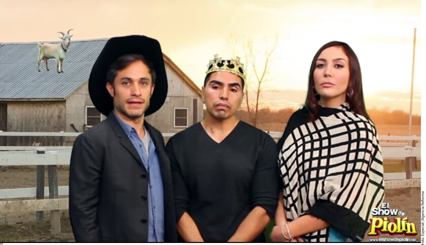 El ganador del Globo de Oro por su actuación en la serie Mozart in the Jungle dio vida al papá· de la quinceañera más popular en una parodia del video de la familia Ibarra, en el que hacen la invitación a la gran fiesta de su hija.