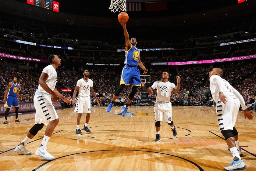 Warriors beat Nuggets and improve to 15-0, equaling best start in NBA history