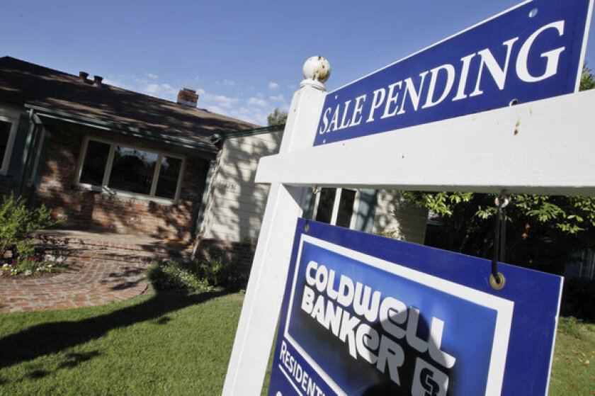 Pending home sales increased slightly in September