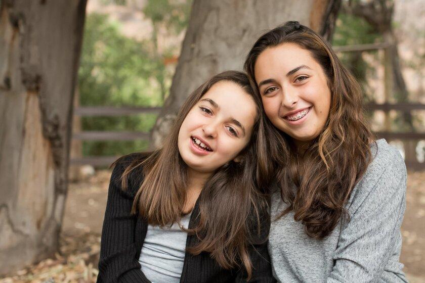 Calista and Kaila Mellos.