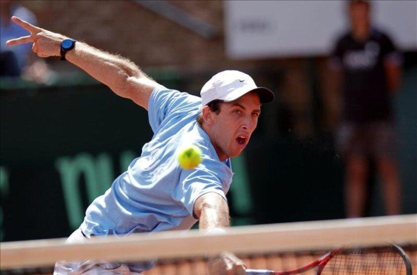 El tenista uruguayo Pablo Cuevas. EFE/Archivo