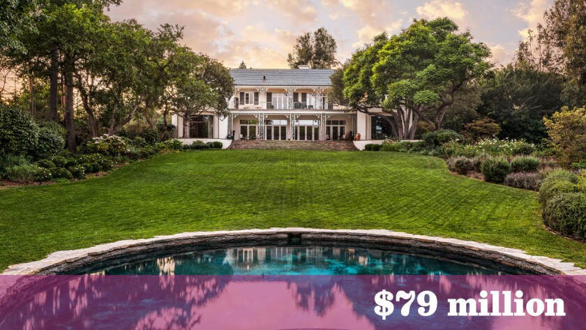 Investor Gary L. Wilson has listed his Gordon Kaufmann-designed home in Holmby Hills for $79 million.