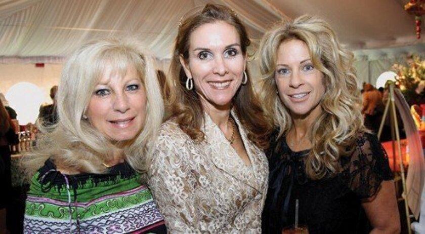 Gina Jordan, Stephanie Kourie, Beth McCain (Photo: Jon Clark)