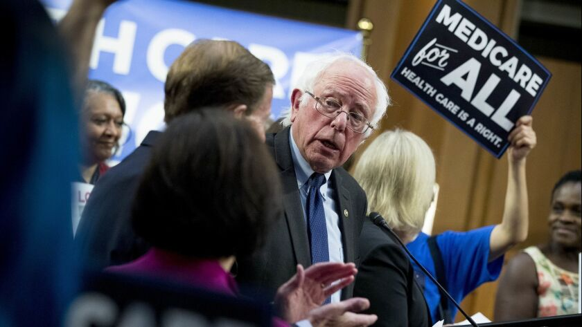 Letters to the Editor: Saving Medicaid is a bizarre reason to reject Medicare for all