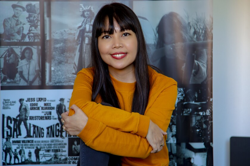 Emma Francisco, shown at her office in Liberty Station on Oct. 31, is an independent film producer and co-founder of the San Diego Filipino Cinema, a nonprofit that nurtures Filipino filmmakers.