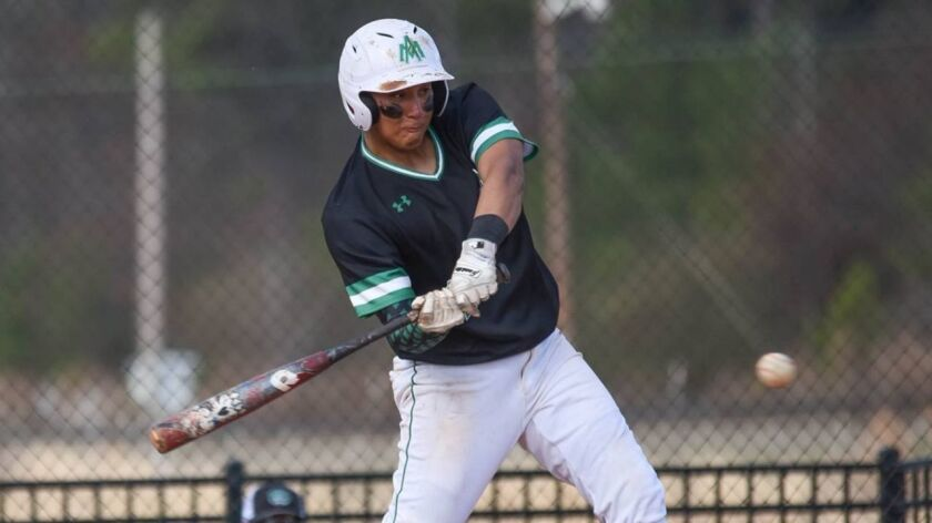 Andy Rios finished his senior season hitting .354 with nine homers, 14 doubles, 52 runs and 52 RBIs.