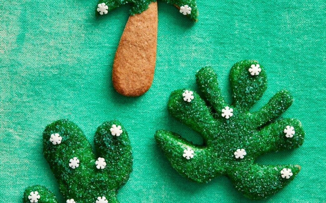 Lemony Gingerbread Cutouts