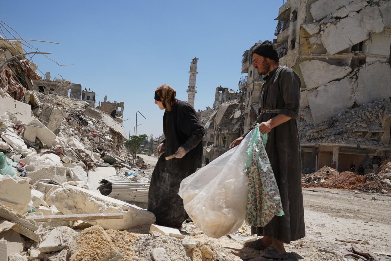 A sense of stability returns to Aleppo neighborhood