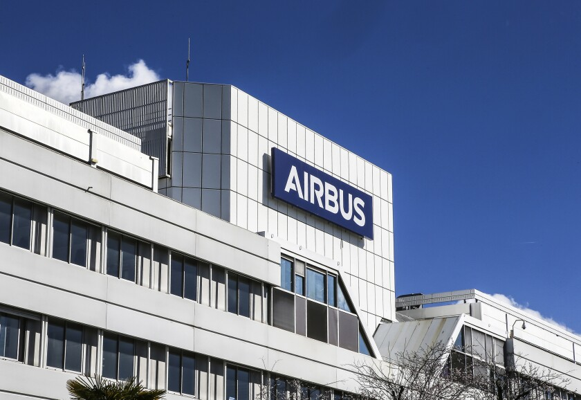 Airbus headquarters in Toulouse, France