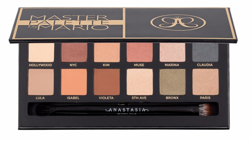 Mario Dedivanovic and Anastasia Beverly Hills eye shadow palette
