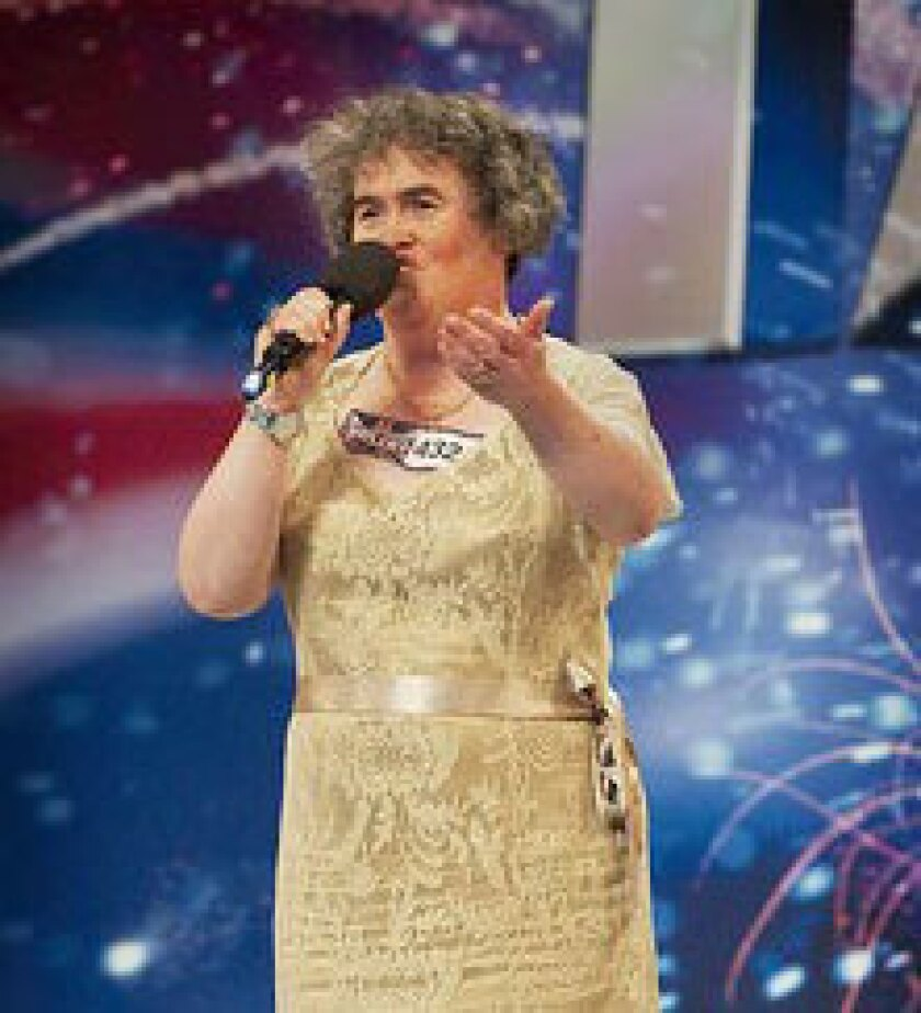 "47-year-old Susan Boyle's performance on the talent show ""Britain's Got Talent"" has received more than five million hits since Sunday evening, sparking a true Internet sensation."