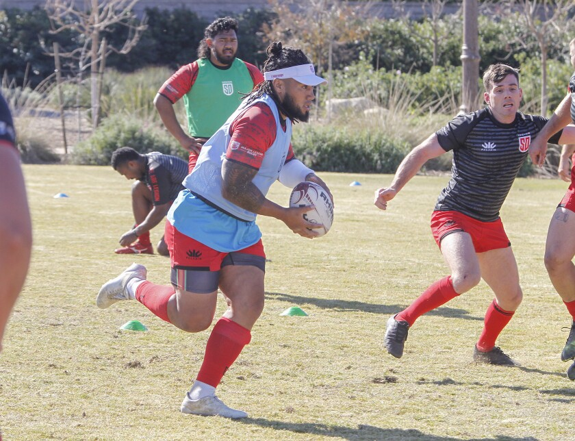 Ma'a Nonu was in his first season with the San Diego Legion when the season was canceled due to the coronavirus pandemic.