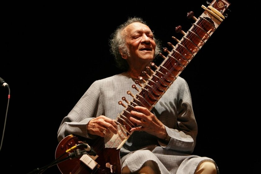 Ravi Shankar, master of the sitar. Photo by Michael Collopy