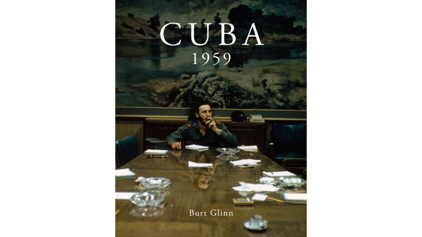 The cover of Burt Glinn's 'Cuba 1959'