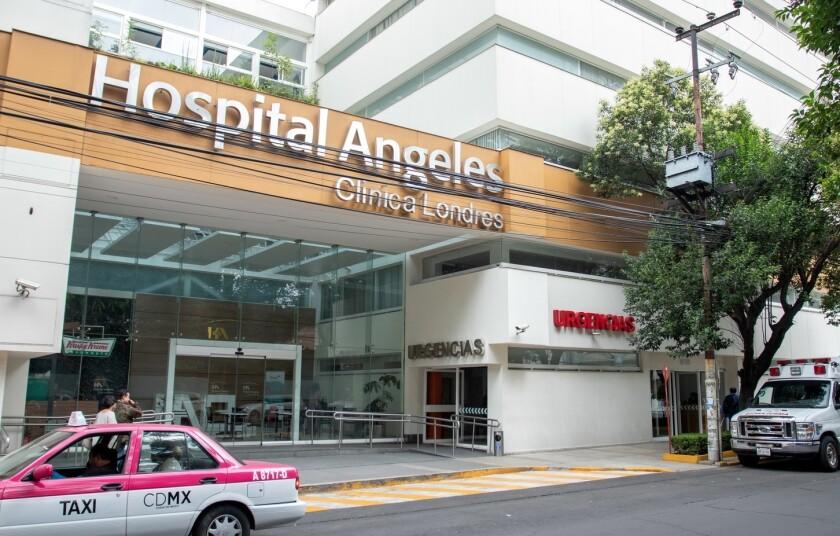En este hospital se encuentra recluido el actor Héctor Suárez